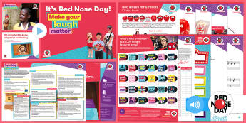 Red Nose Day 2017 Primary Resource Pack - Red Nose Day, KS1, KS2