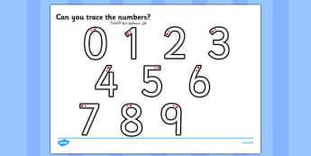 Number Formation Worksheet Arabic Translation - arabic, number formation, worksheet, overwriting