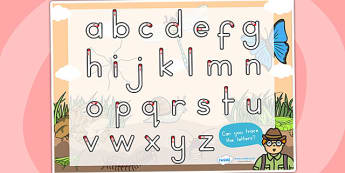 Minibeasts Themed Letter Writing Worksheet - writing letters