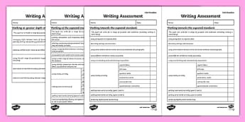 Y6 Writing Assessment Checklist Exemplification - KS2 Diagnostic Writing Test