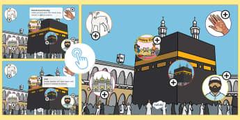 KS1 Eid al-Adha Picture Hotspots - Muslim, festival ,Islam, RE, celebration