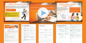 The Iterative Design Challenge Lesson Pack - Key Stage 4 Design & technology,design process,GCSE design & technology,design project,iterative des