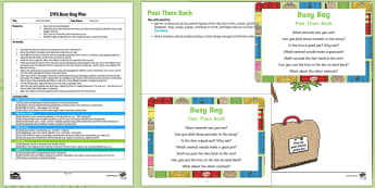EYFS Post Them Back Busy Bag Plan and Resource Pack to Support Teaching on Dear Zoo - Dear Zoo, Rod Campbell, animals, letter to the zoo, posting, in and out