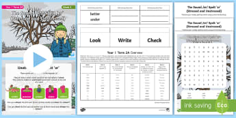 Year 1 Term 2A Week 3 Spelling Pack - Spelling Lists, Word Lists, Spring Term, List Pack, SPaG