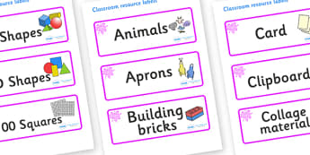 Pink Themed Editable Classroom Resource Labels - Themed Label template, Resource Label, Name Labels, Editable Labels, Drawer Labels, KS1 Labels, Foundation Labels, Foundation Stage Labels, Teaching Labels, Resource Labels, Tray Labels, Printable labe