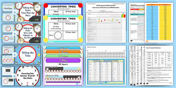 CfE Numeracy and Mathematics – Second Level – Number, Money and Measure - Time Resource Pack-Australia