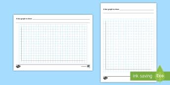 Bar Chart Template - bar graph, template, maths, designing graphs, column graph, numeracy, statistics, graphs, graphing