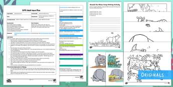 EYFS Ronald the Rhino Song Adult Input Plan and Resource Pack - Ronald the Rhino, Twinkl storybook, adult input plans, adult led, teacher led, activities, games, mu