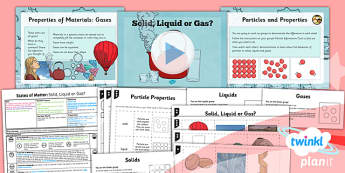 Science: States of Matter: Solid, Liquid or Gas? Year 4 Lesson Pack 1