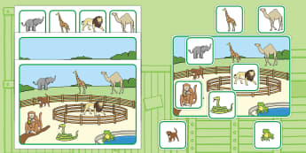 Matching Cards and Board to Support Teaching on Dear Zoo - dear zoo, dear zoo picture matching game, dear zoo matching cards, dear zoo image matching activity, sen matching game