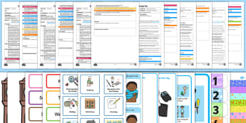 Uses Everyday Language Related to Time Adult Input Planning and Resource Pack - EYFS Uses Everyday Language Related to Time, shape space measure, SSM, planning, teaching, teacher l