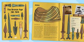 Bronze Age eBook - bronze age, bronze, history, ebook, e book