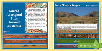 Australian Aboriginal Sacred Sites Display Facts Posters - Australian Curriculum, HASS, The Ways In Which Aboriginal And Torres Strait Islander Peoples Maintai
