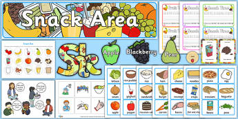 Snack Time Ready Made Display Pack - snack time, ready made, display pack