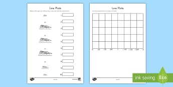 Measuring Tigers Line Plot Activity - measurement, data, line plot, inches, ruler, fractions, number line