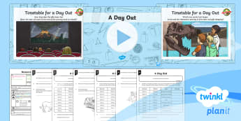 PlanIt Y3 Measurement Lesson Pack Comparing Timed Events (1) - measurement, time, timed events, hours and minutes, compare durations of events, measures, time, mat