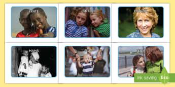 Familia mea Fotografii de afișat - educație socială, dezvoltare personală, om și societate, totul despre mine, relații,Romanian-tr