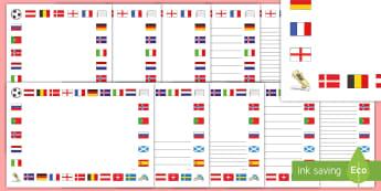 UEFA Women's Euro 2017 Page Border Pack - euros, football, ladies football, tournament, european championships