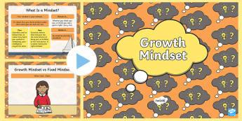 Growth Mindset PowerPoint - KS1 - UK Growth Mindset resources, growth mindset, carol dweck, introducing growth mindset, fair, ef