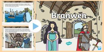 Branwen PowerPoint - Branwen, branwen, Mabinogion, mabinogion,Curriculum Cymreig, Welsh culture, welsh culture,welsh stor