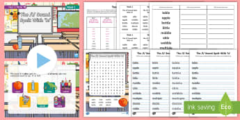 Year 2 Term 1B Week 1 Spelling Pack - Spelling Lists, Word Lists, Autumn Term, List Pack, SPaG