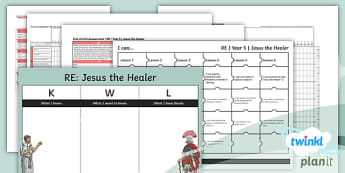 RE: Jesus the Healer Year 5 Unit Assessment Pack