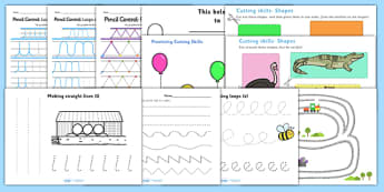 Fine Motor Skills Resource Pack - teaching assistant, activity, litracy, writing, fine motor