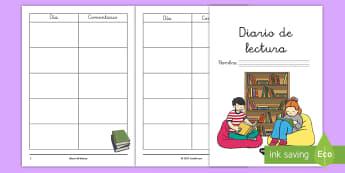 Cuadernillo: Lectura de juego de rol - El colegio - juego de rol, juego simbólico, lectura, agenda, cuaderno, cuadernillo, leer, libros, resuman, sinó