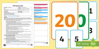 EYFS Number Circuits Adult Input Plan and Resource Pack - EYFS Number ELG, mathematics, early years, EYFS Planning, Adult led, 1 less than, given number, numb