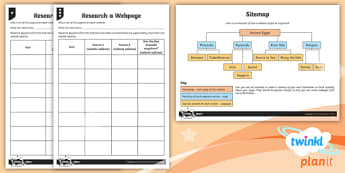 Computing: Website Design Year 6 Home Learning Tasks