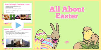 Why Do We Celebrate Easter? Powerpoint- easter, information, eyfs, ks1,  all about easter, powerpoint