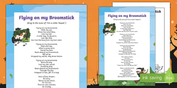 Flying on My Broomstick Song