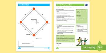 Kick Ball  Activity Pack - PE Curriculum Aims KS2