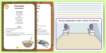 Houses and Homes Playdough Recipe and Mat Pack - Houses and Homes, my environment, bricks, building, houses, house, playdough, playdoh