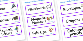 Lynx - Star Constellation Themed Editable Writing Area Resource Labels - Themed writing resource labels, literacy area labels, writing area resources, Label template, Resource Label, Name Labels, Editable Labels, Drawer Labels, KS1 Labels, Foundation