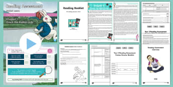 Year 5 Term 2 Fiction Reading Assessment Guided Lesson Teaching Pack - Year 3, Year 4 & Year 5 Reading Assessment Guided Lesson PowerPoints, KS2, reading, read, assessment