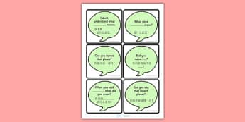 Prompt Cards for Clarification Mandarin Chinese Translation - mandarin chinese, reflect, support cards, prompts