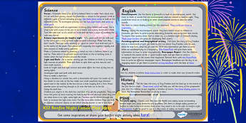 Bonfire Night Lesson Plan Ideas KS2 - bonfire night, lesson plan, lesson plan idea, lesson ideas, lesson planning, teaching plan, KS2, key stage 2, KS2 ideas