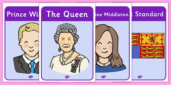 The Royal Family Posters - the royal family, royal, family, posters, signs, display, Queen Elizaeth, Prince Philip, Prince Charles, Duke of Edinburgh. Prince William, Kate Middleton, Prince Harry, Duchess of Cornwell