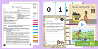 EYFS The Magic Porridge Pot Capacity Problem Solving Adult Input Plan and Resource Pack - Early Years Planning, EYFS, Adult Led, Traditional Tales, story, fiction, shape, space and measure,