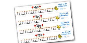 Chinese New Year Number Line (0-20) - Chinese New Year, Maths, Math, numberline, numberline display, China, lantern, dragon, chopsticks, noodles, year of the rabbit, ox, snake, fortune cookie, pig