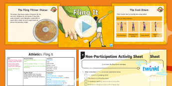 PE: Athletics: Fling It Year 5 Lesson Pack 5