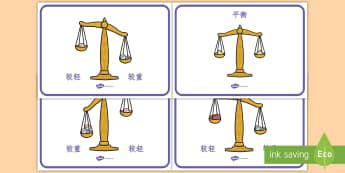 重量比较展示海报 - 重量比较展示海报,重量,平衡,称,重量比较,轻,重