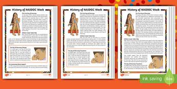 NAIDOC Week Differentiated Reading Comprehension Activity - Australia, History, Indigenous, William Cooper, Day of Mourning, Aboriginal, Torres Strait Islander,
