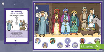 Nativity Can you Find...? Poster and Prompt Card Pack