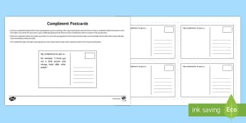 Compliment Postcards - Young People & Families Case File Recording, referral, chronology, contents page,buddy system, safeg