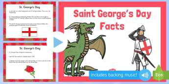 All About St George's Day PowerPoint - st georges day, st georges day powerpoint, st georges day information, about st georges day, saint georges day