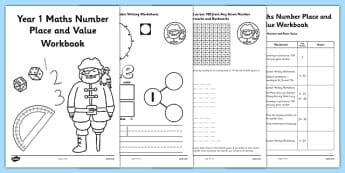 Year 1 Maths Number Place and Value Workbook