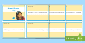 Eu cel mindful: Emoțiile mele Cartonașe - inteligență emoțională, automotivație, autocontrol, gândire pozitivă, managemnet comportament