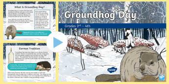 Groundhog Day PowerPoint Grades 3 & 4 PowerPoint